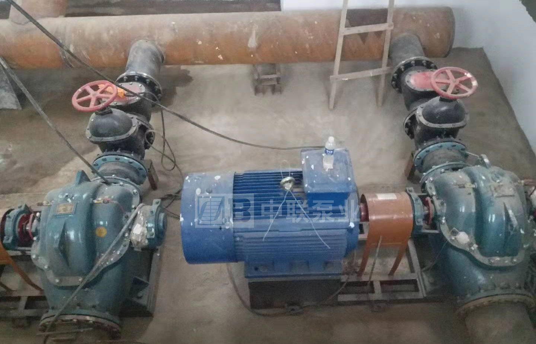 神木市水利建筑工程有限公司中开泵