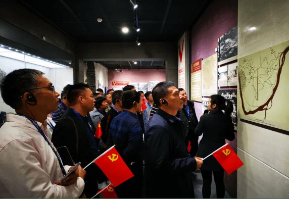 湖南省五金机电商会成员参观纪念馆