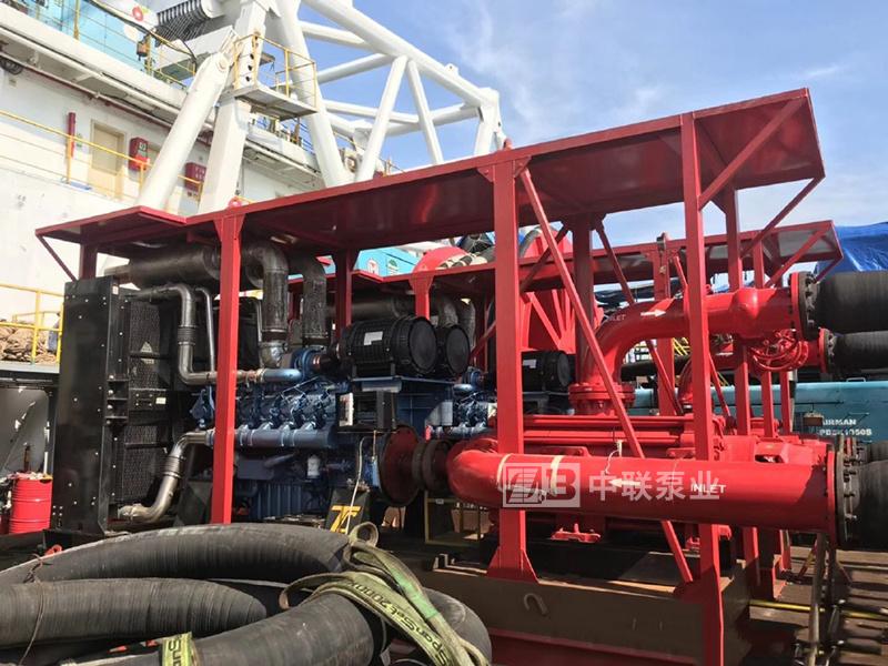 印尼海上油田船用高壓海水泵