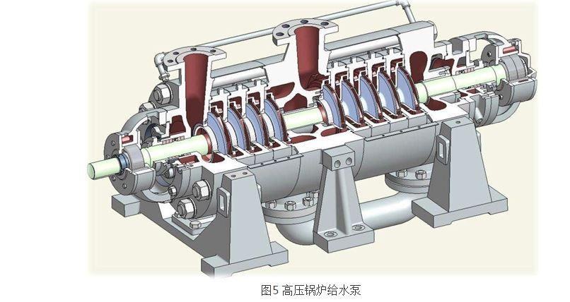 卧式高压锅炉给水泵结构图