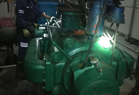 乌海市天誉煤炭有限责任公司煤矿主排水泵
