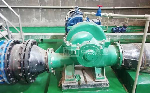 湖南嘉原景观宁远分公司SAP型水平中开双吸泵客户案例