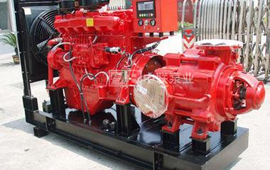 柴油抽水机组