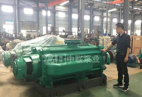 九江工贸某铁矿好评MDP型自平衡矿用多级离心泵