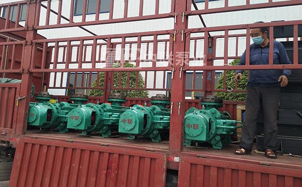 贵州久黍邦达能源更换新型多级泵产品自平衡矿用耐磨多级泵
