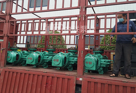 贵州久黍邦达能源使用新型自平衡矿用耐磨多级离心泵