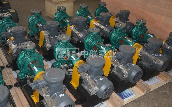 平煤神马建工集团一次性订购10台IS防爆单级离心泵