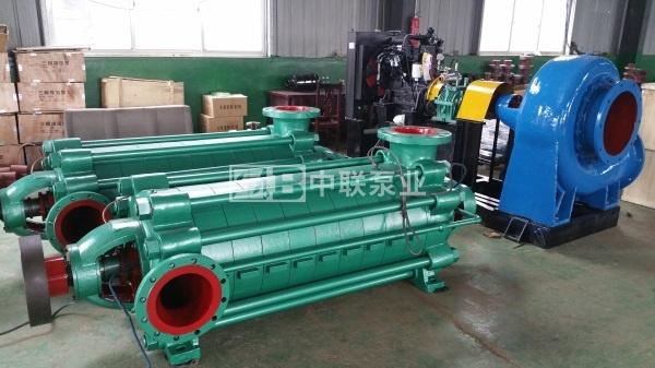 ?MD型礦用耐磨多級泵