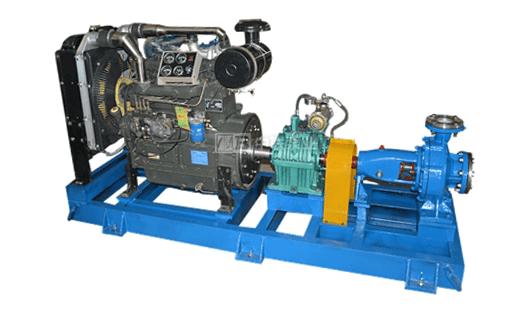 柴油机单级水泵机组