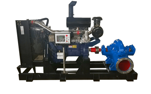 柴油机中开水泵机组