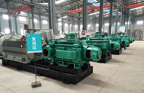 MDP型自平衡矿用多级泵
