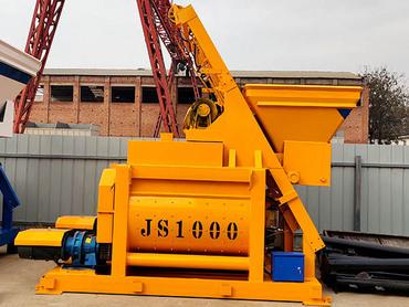 <b>JS1000強制式攪拌機</b>
