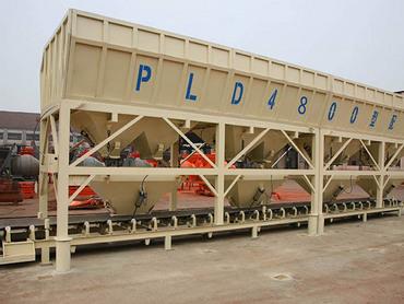 <b>PLD4800混凝土配料機</b>