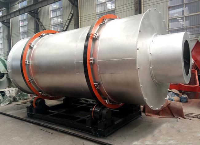 浙江舟山時產60噸烘干機