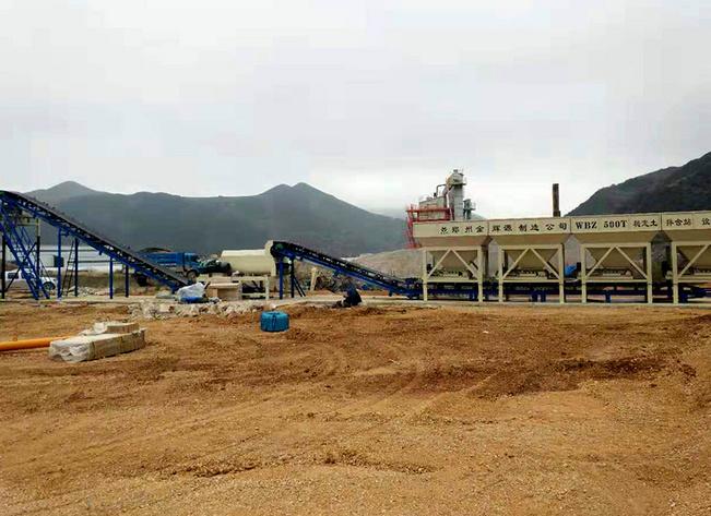 貴州畢節500T穩定土拌和站