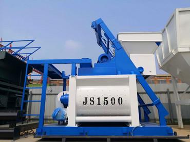 <b>JS1500強制式混凝土攪拌機</b>