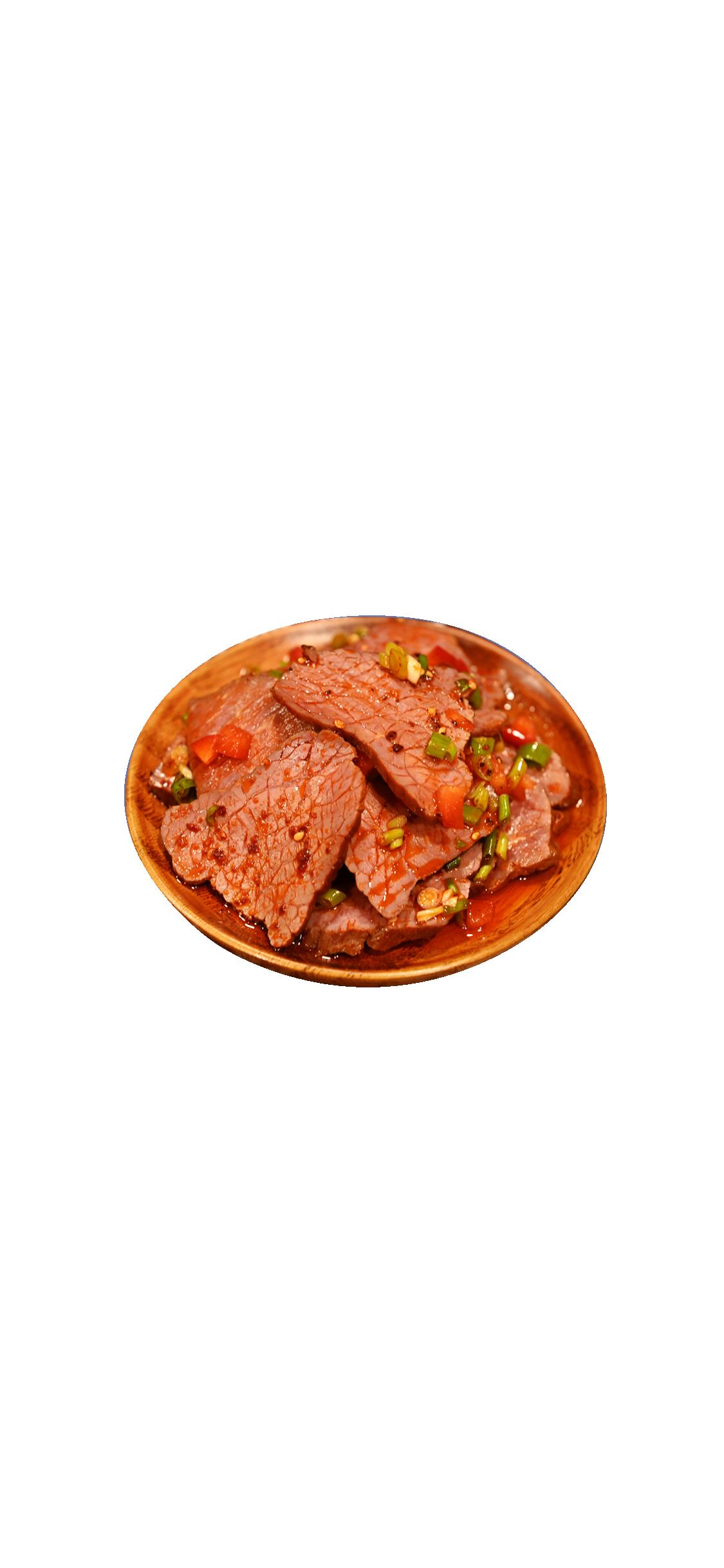 鹵牛肉(紅色)