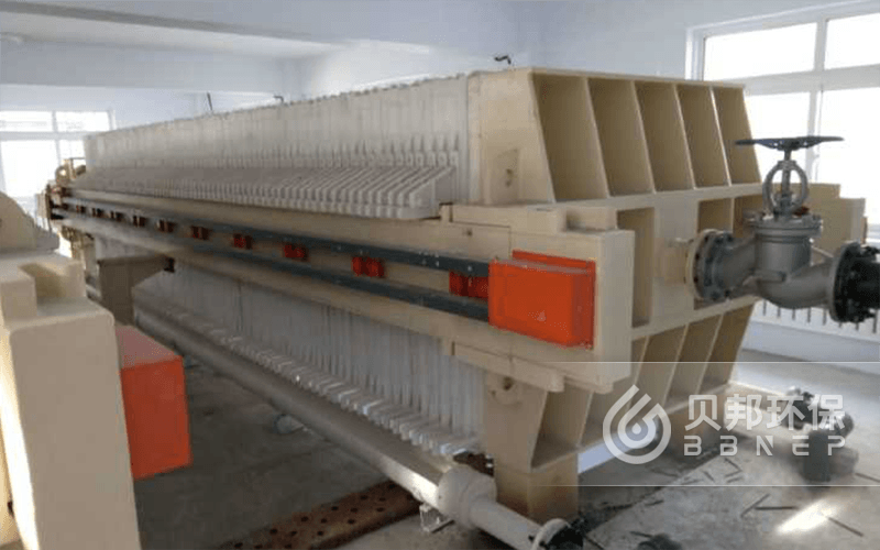 High temperature sludge treatment project of an aluminum industry in Henan province
