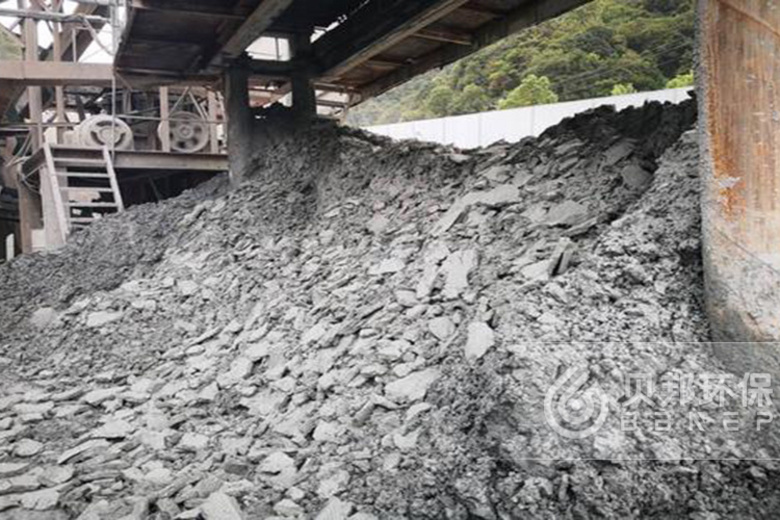Mud treatment project of a machine-made sand company in Guizhou