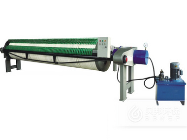 800 Filter Press with Round filter Plates