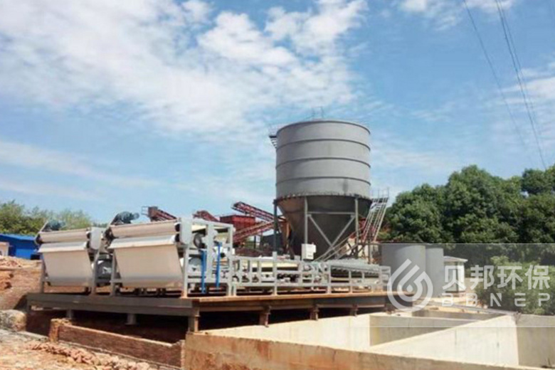 Manufactured sand water treatment solutions