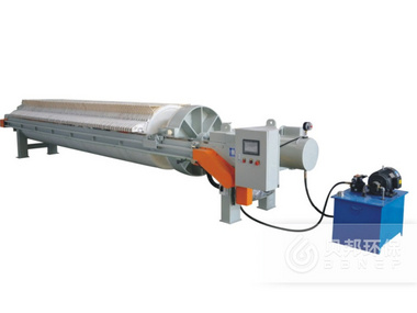 1000  Filter Press with Round Filter Plates