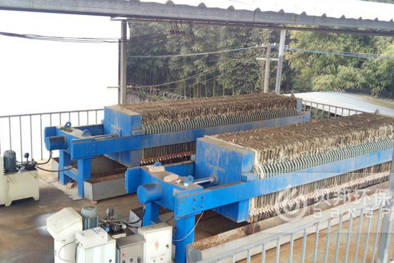 Solution for sludge wastewater treatment in ceramic industry