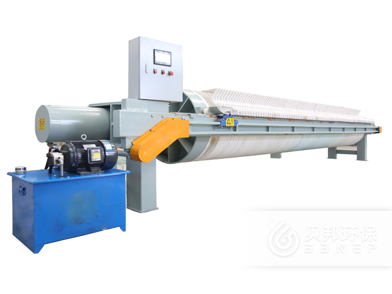 1200 Filter Press with Round filter Plates