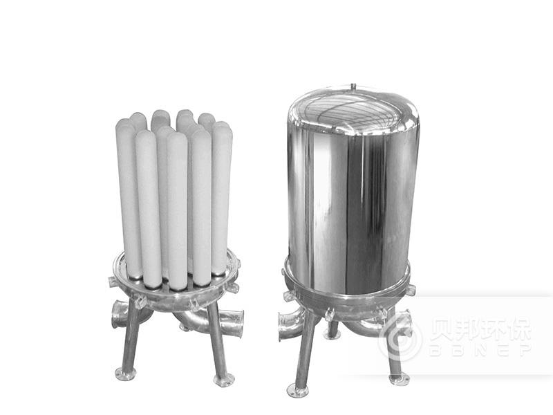 Titanium bar filter