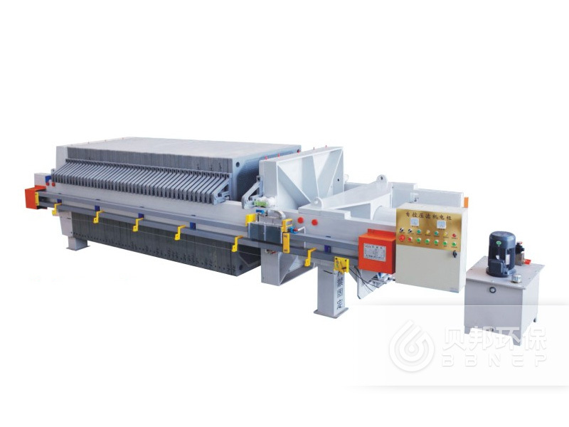 1000 Chamber Filter Press with Automatic Plate Shifter