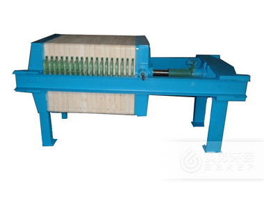 450 Screw Jack Plate-and-Frame Filter Press