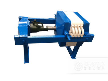 320 Screw Jack Plate-and-Frame Filter Press