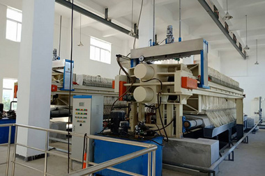 Automatic Membrane Filter Press For Sludge Dewatering We strictly control every production link