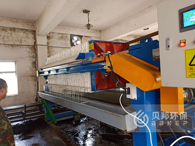 Model 630 Automatic Hydraulic Filter Press