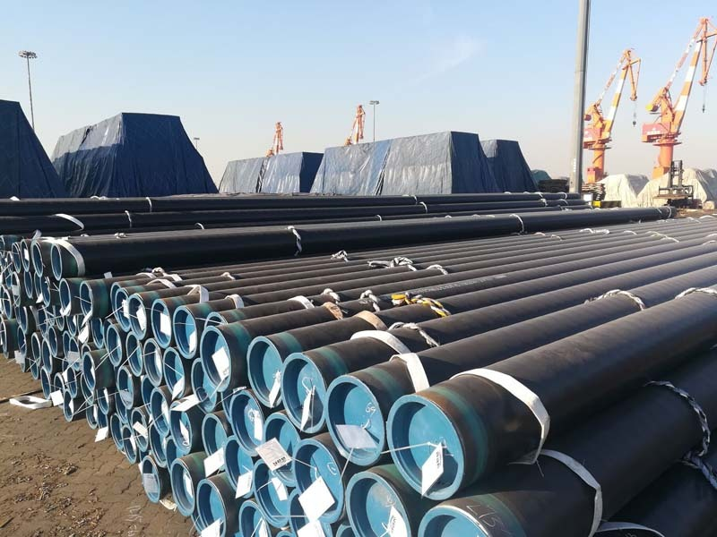 1500 Tons A106B & A333 GR 6 & 304 Seamless Pipes to Nigeria