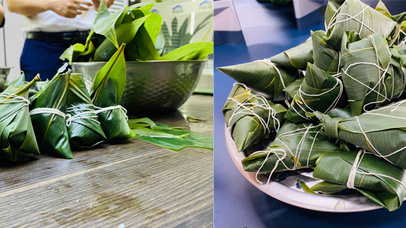 BBN Group held the Dragon Boat Festival making Zongzi event