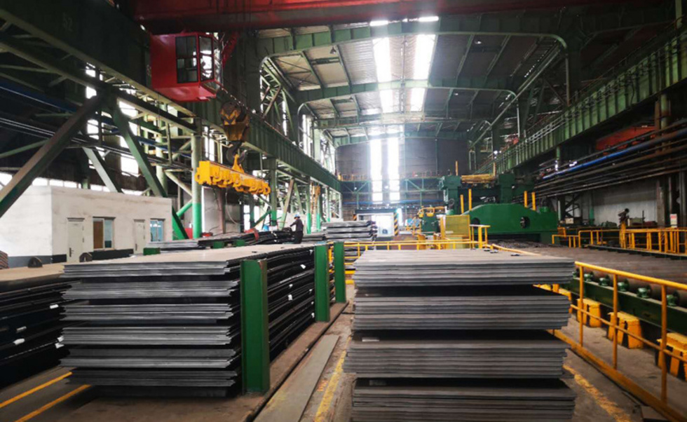 1447 tons ASTM A283GRC steel plate to Kuwait