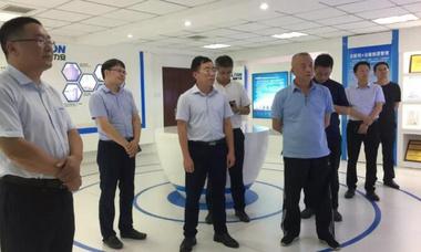 厦门火炬高新区管委会领导一行到力安科技参观考察