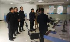 新乡高新区管委会领导到力安科技参观考察