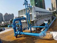 Quick open hydraulic filter press