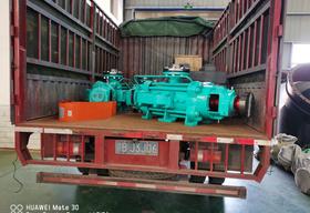 <b>湘乡水处理公司喜提2台DP46-50×4自平衡多级泵</b>
