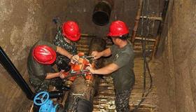 阜阳市供水总公司IS型单吸离心泵