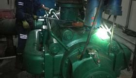 烏海市天譽煤炭有限責任公司煤礦主排水泵