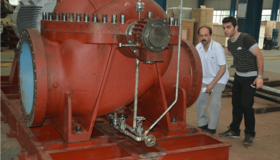 中鐵建設集團塔吉克斯坦電廠項目鍋爐給水泵