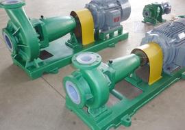 IHF型耐腐蚀氟塑料化工泵