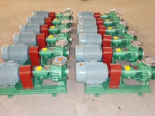 CIH(IMC)型不銹鋼磁力轉動單級離心泵