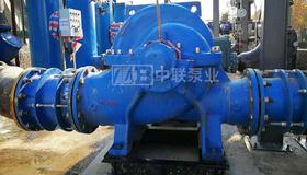 河北某電廠煙囪煙羽治理項目漿液冷卻系統循環冷卻水泵