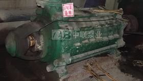 康定科峰礦業有限公司礦用耐磨多級泵