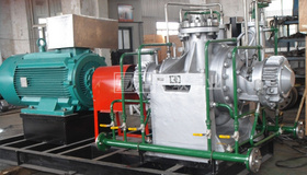 中标某酿酒工程技改项目锅炉给水泵采购