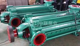 四川杰特机器下单2台MD85-45×4耐磨矿用多级离心泵
